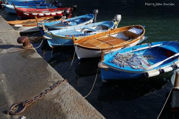 Dans le port de Vernazza