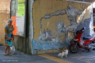Neptune, des chiens et un scooter, Levanto