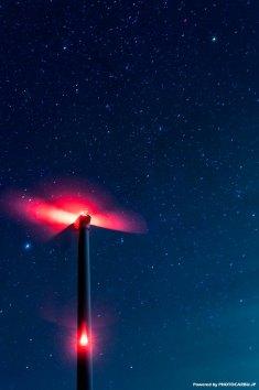 星空の風車 - Windmill of the starlit sky