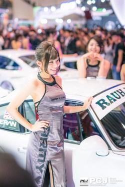 美人コンパニオンさんが多くて車よりも人撮りの方が混み合ってました