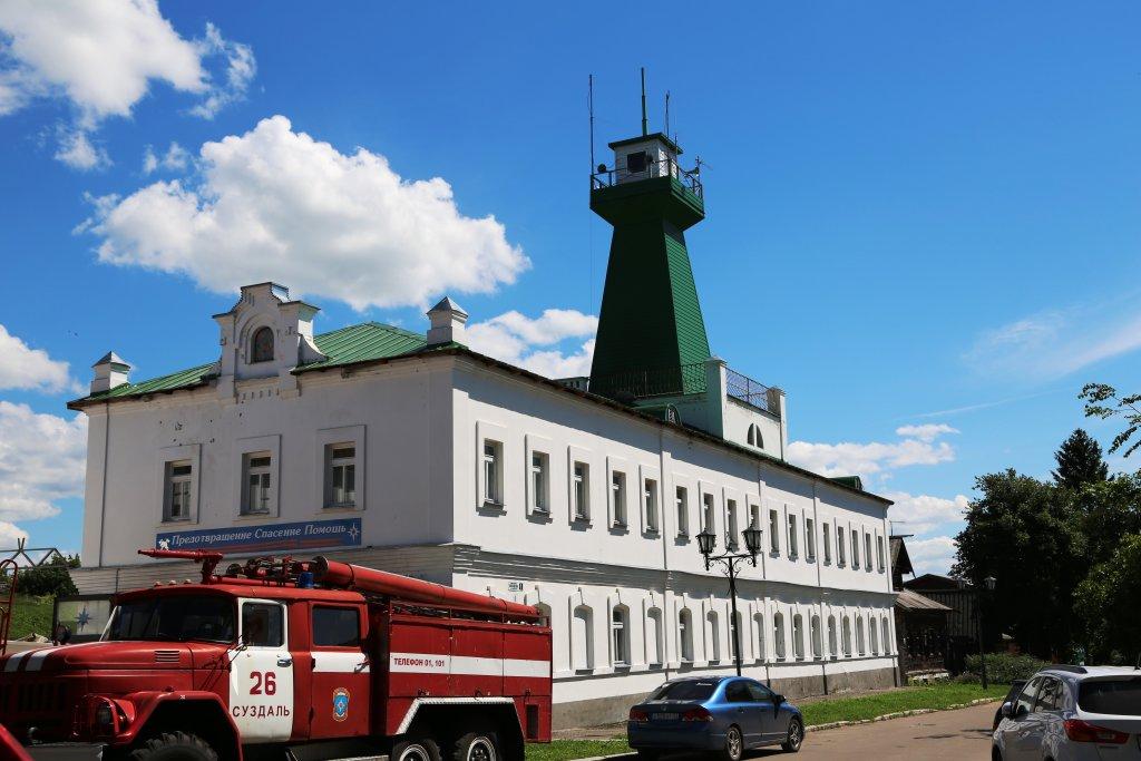 Фото Пожарная каланча в городе Суздаль