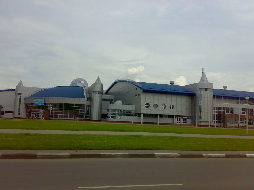 Фото Ледовый дворец и аквапарк в городе Жлобин