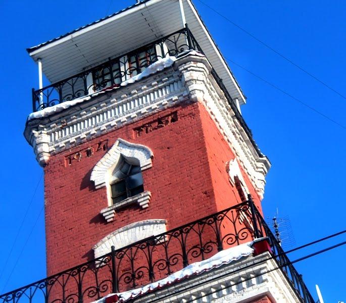 Фото Пожарная каланча в городе Ковров
