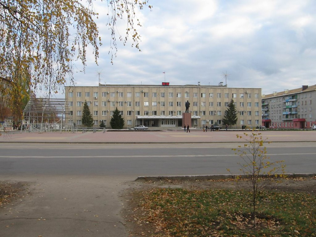Фото пл. Ленина в городе Россошь