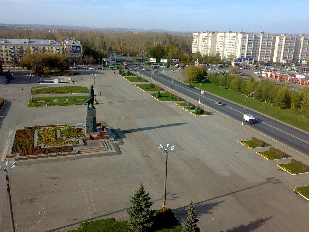 Фото пл. Ленина в городе Кстово