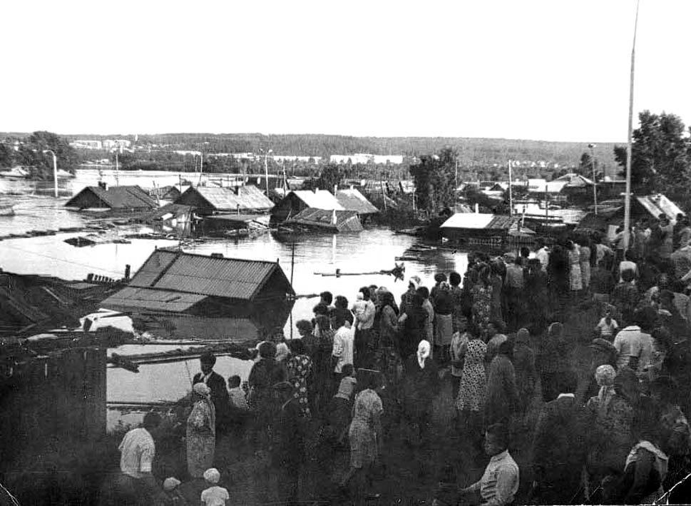 Фото Тулун Потоп 1980 в городе Тулун
