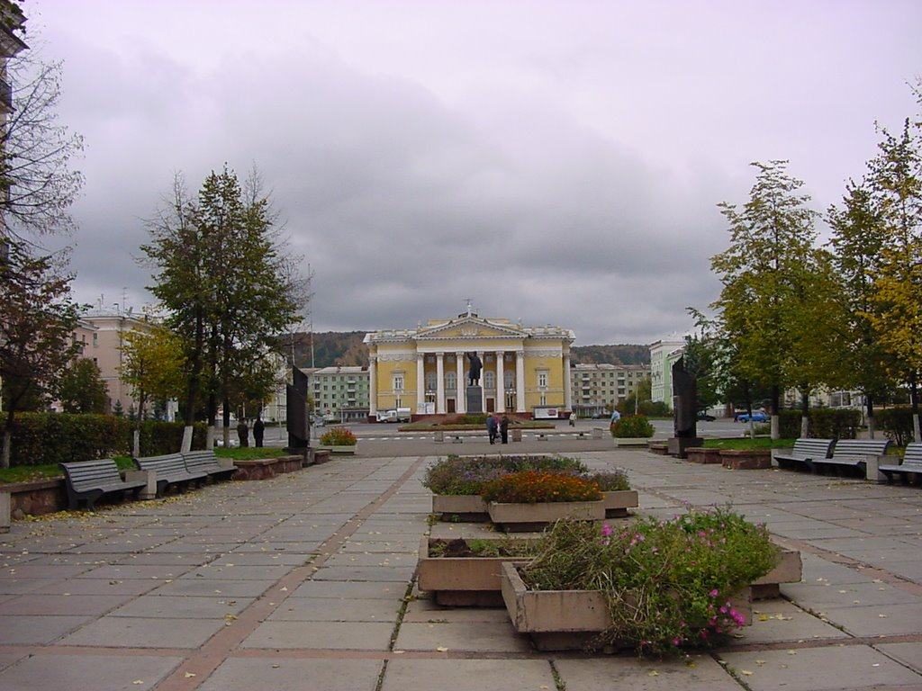 Фото пл. Ленина в городе Железногорск