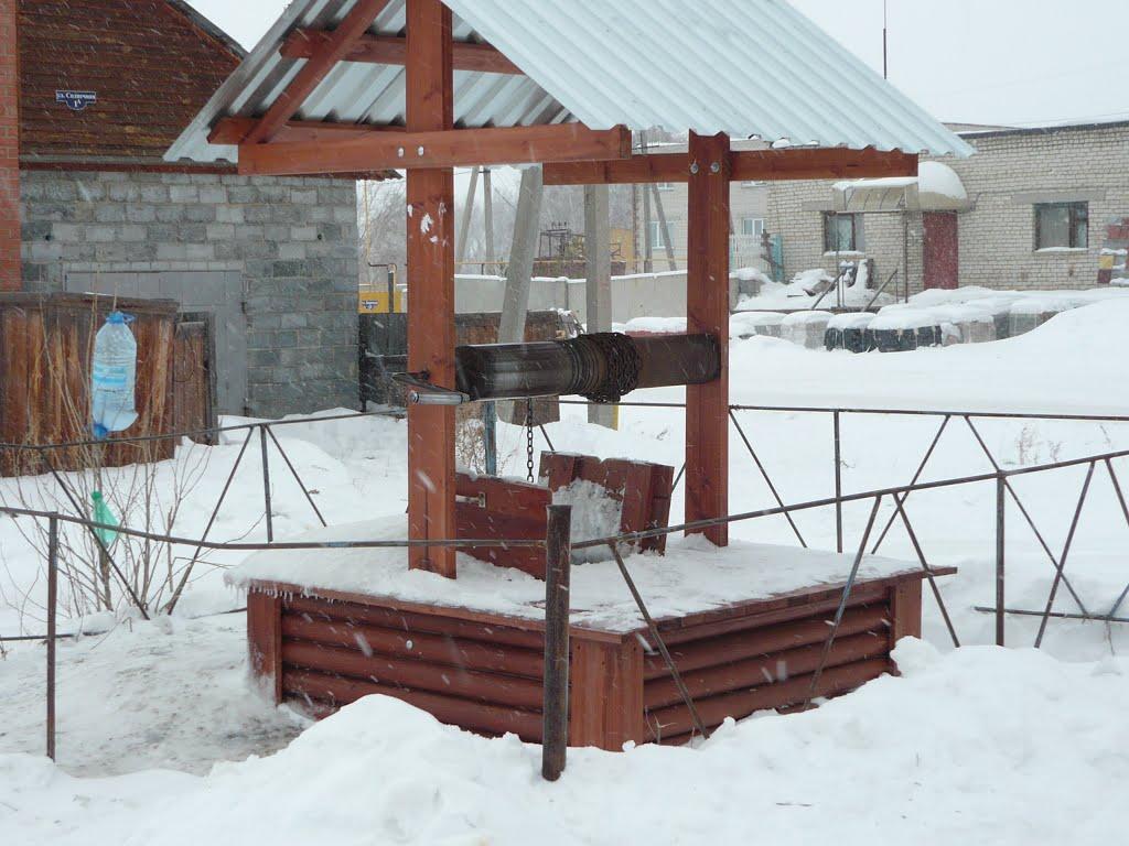 Фото колодец в городе Кетово