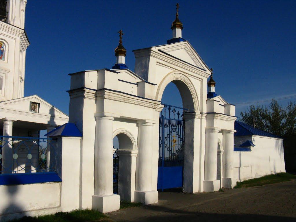 Фото церковь Петра и Павла в городе Куртамыш