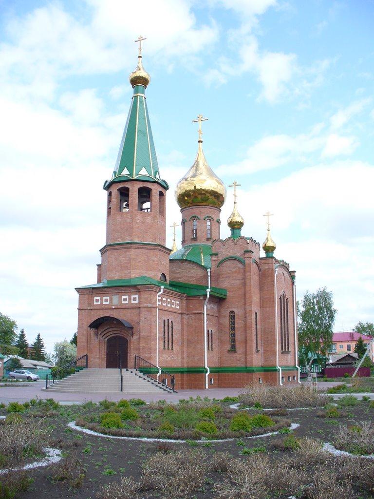 Фото Церковь в городе Калачинск