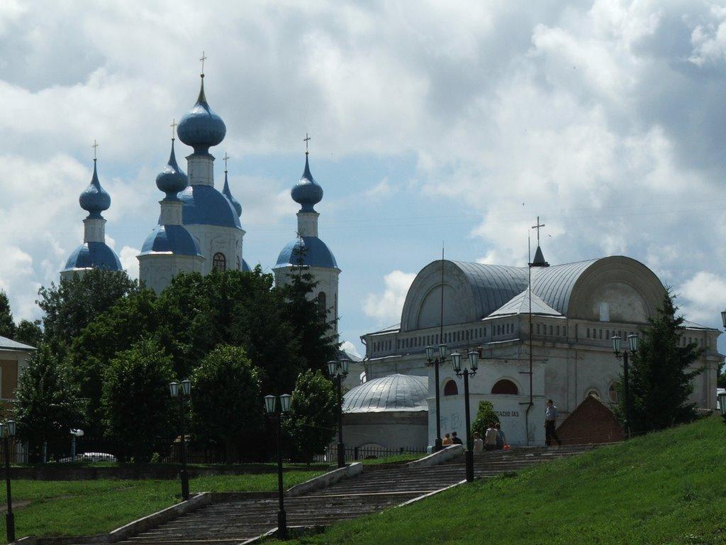 Фото Россия, Тамбов, Набережная, вид на Казанский собор в ...