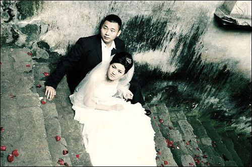 Chinese earthquake wedding