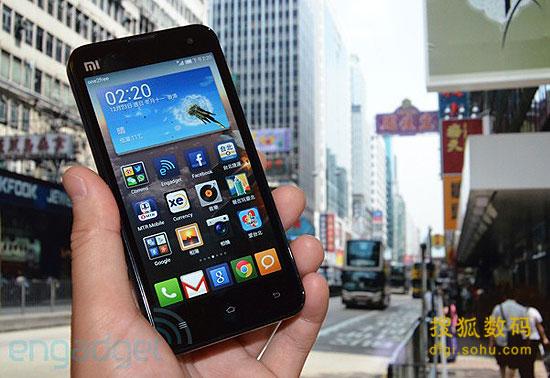 小米手機2即將在中國香港/臺灣上市(圖)