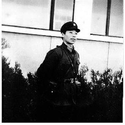 张根学曾当了3年侦察兵(资料照片)