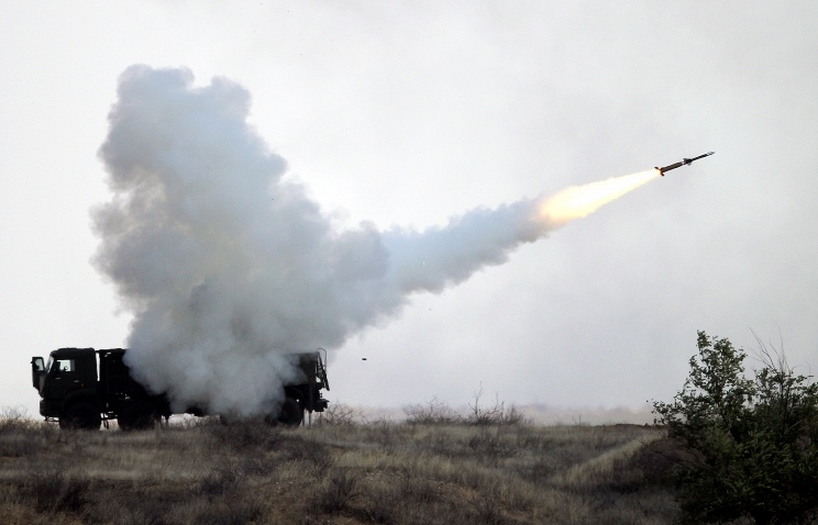 Pantsir-S1 surface-to-air missile