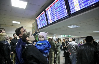 Passengers at Borispol airport (archive)