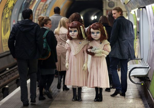 03-twin-dolls-london-tube-matt alexander - PA wire