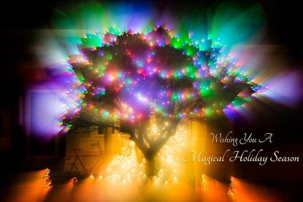 Christmas Aura by Jeanie Sumrall-Ajero
