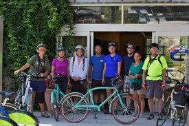 Participants in Bike and Bird activity