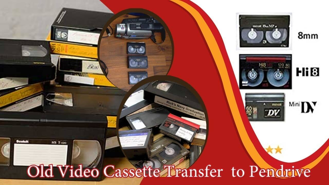 Audio Cassette and Tape Transfer Services - at PhotoClickClub