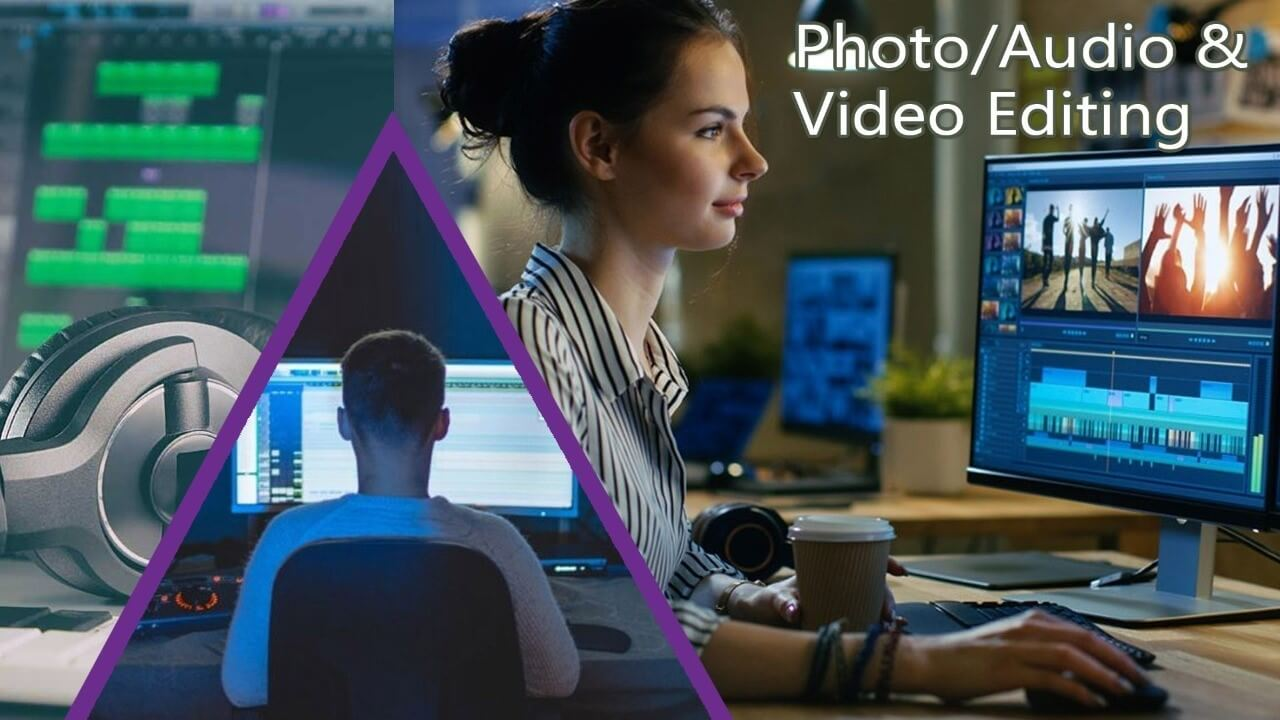 Photo Audio and Video Editing Services - at PhotoClickClub