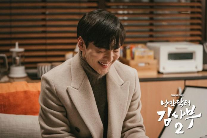 คิมมินแจ พยาบาลอึนทัก ในซีรีส์ Dr.Romantic 2