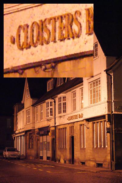 cloisters bar