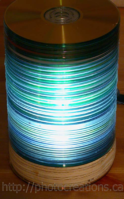 CD Lámpa