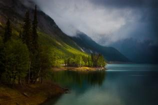Medicine Lake Jasper National Park Alberta