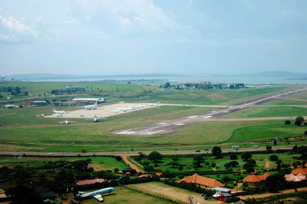 Into the underbelly of Entebbe International Airport, Uganda