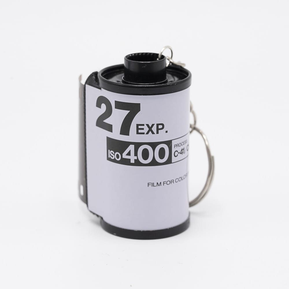 Disposable Camera Film Keychain