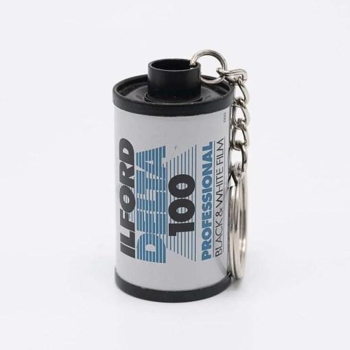 Ilford Delta 100 Film Keychain