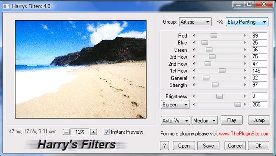 Download Harry's Filters - free Photoshop CS5 Plug-in