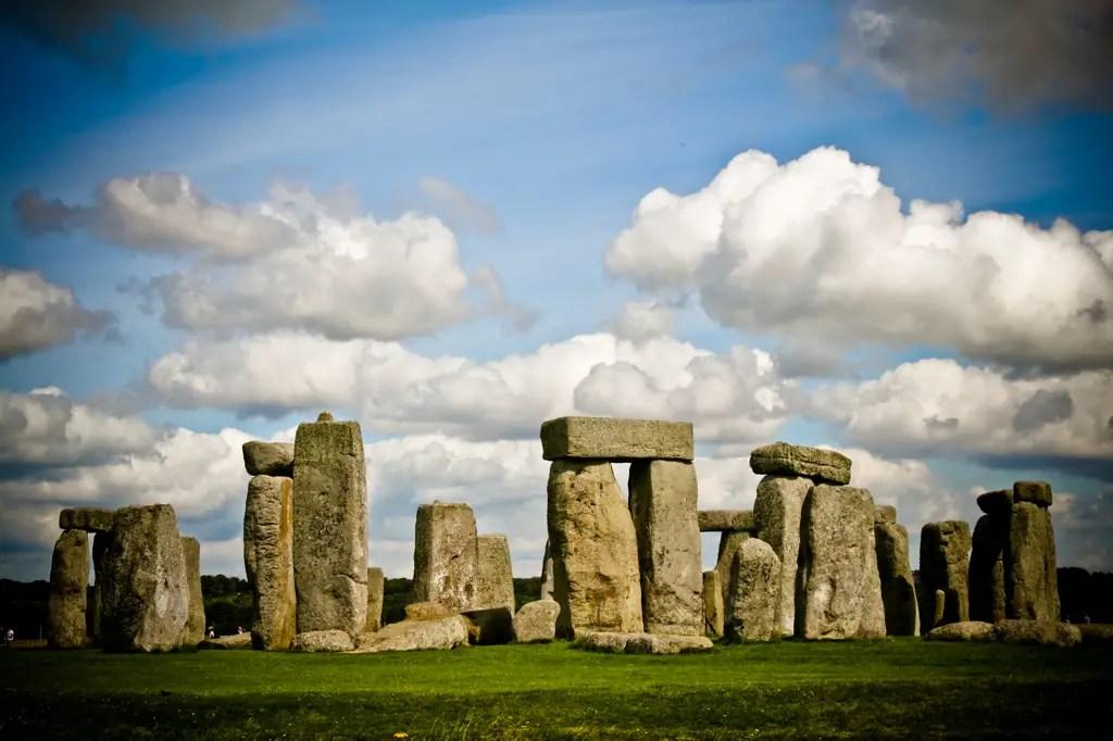 Ruins of Stonehenge.