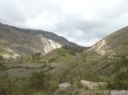 the landscape change into rigid mountains