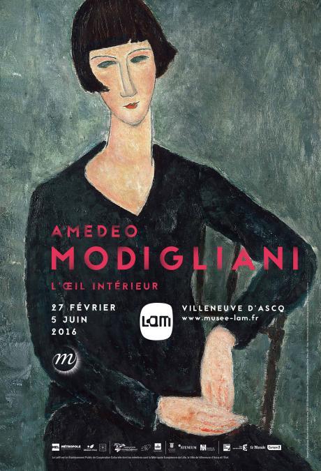 "Exposition ""Amedeo Modigliani, l'œil intérieur"" au Lam"