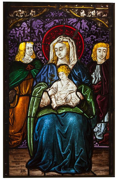 La Vierge à l'enfant, Musée Lorrain, Nancy