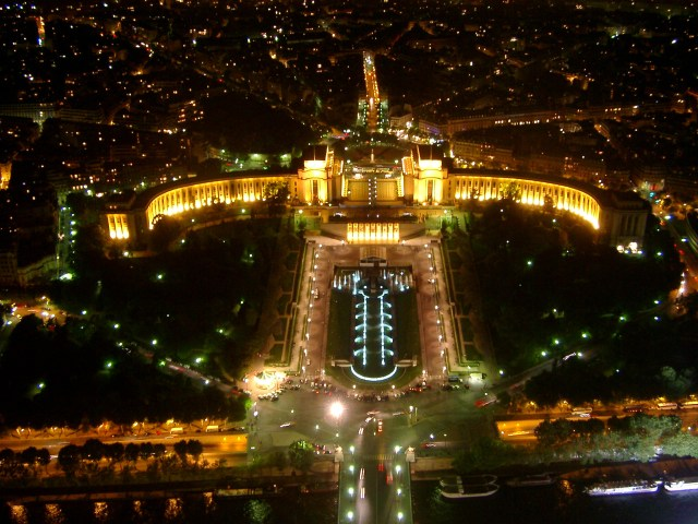 Paris at night or the city of lights