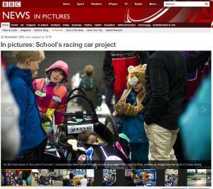 BBC Schools racing project