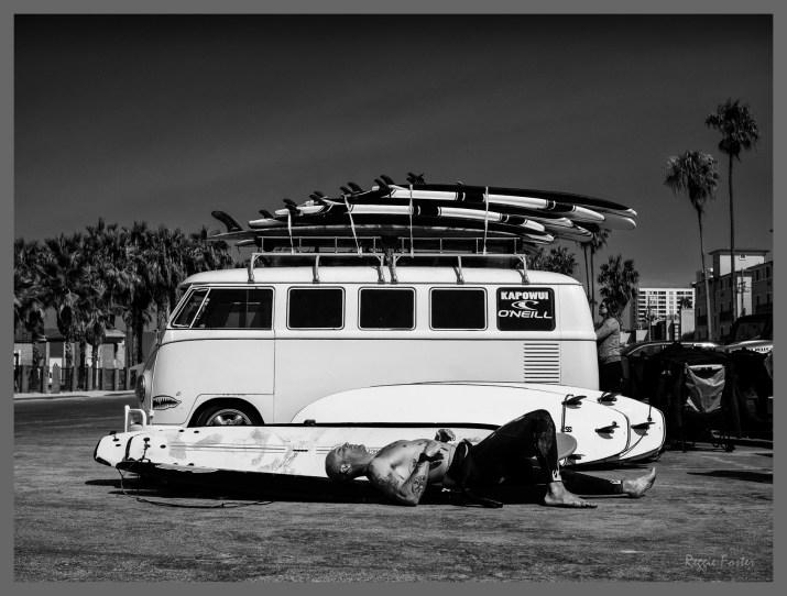 Surf Van, Venice Beach, CA, ©2016 Reginald Foster, All Rights Reserved