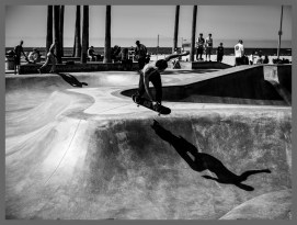 Skateboard Park #2, Venice Beach CA, ©2016 Reginald Foster, All Rights Reserved
