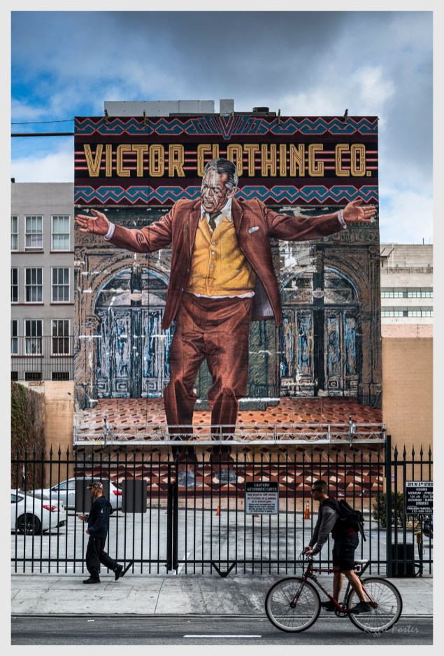 Victor Clothing Co., DTLA, Los Angeles, CA, ©2016 Reginald Foster, All Rights Reserved