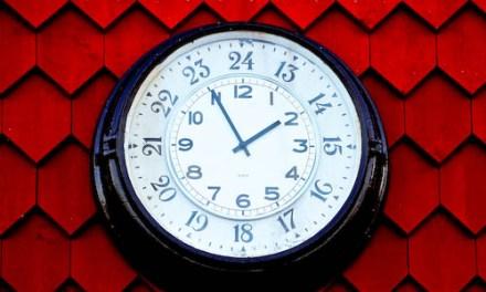 Mettez votre blog à l'heure !