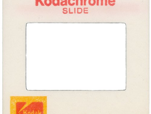 The end : Kodachrome