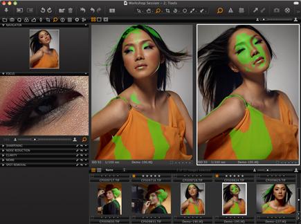 Automne chargé pour les logiciels photo