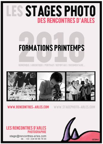 Arles : stages de printemps 2010