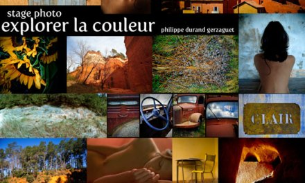 Stage photo : explorer la couleur