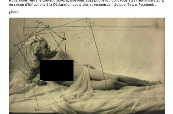 Le musée du Jeu de Paume censuré par Facebook