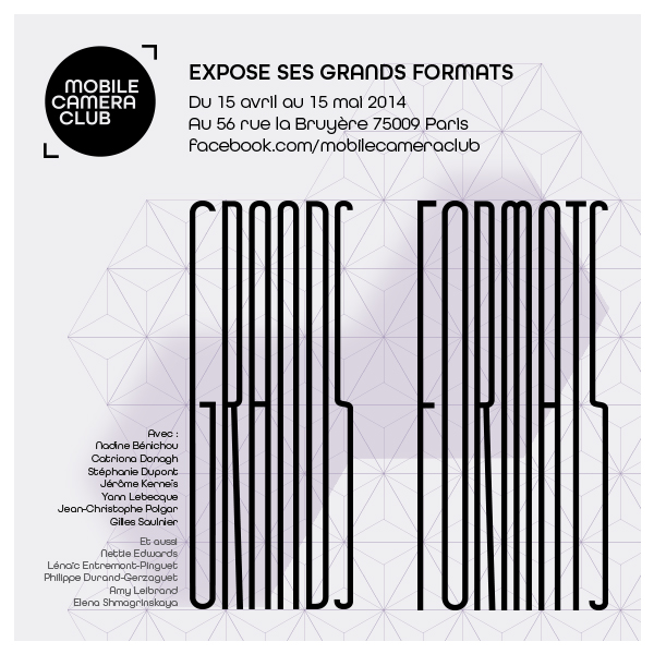 Photo mobile et grands formats : une expo à Paris