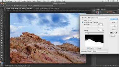 Photoshop Layer Masks: Using Color Range